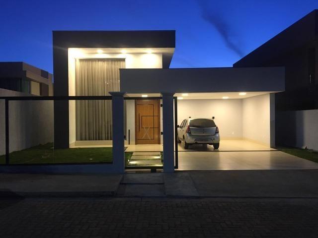 Samuel Pereira oferece: Casa 3 Suites Nova Moderna Pé Direito Duplo Piscina Churrasqueira