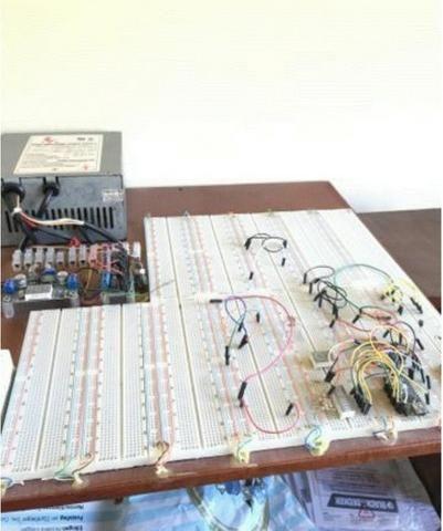 Kit completo com 12 Protoboards (PCB Bread Board) + Fonte + Regulador - 12v - 5v - 3,2v - Foto 2