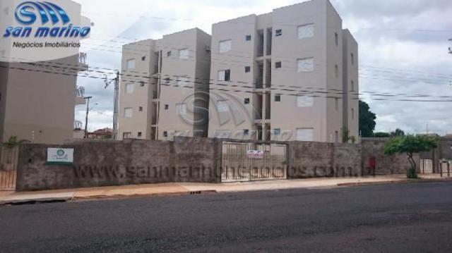 Apartamento à venda com 1 dormitórios em Nova jaboticabal, Jaboticabal cod:V432