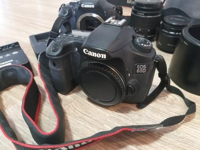 Câmera Canon EOS 60D - corpo - Foto 3
