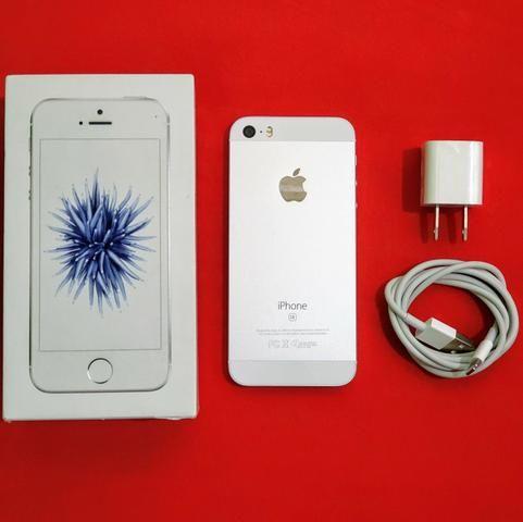 IPhone SE 64 GB novo (11 meses de garantia)