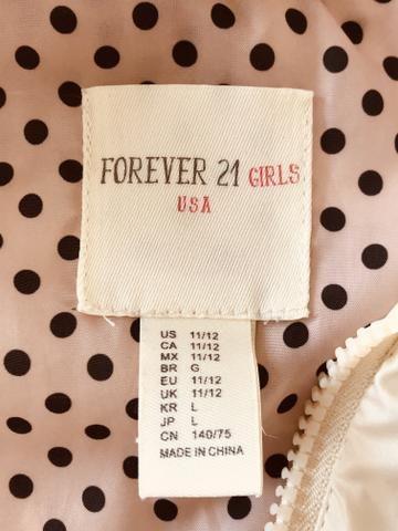 Colete infantil Forever21 (10 anos) - Foto 4