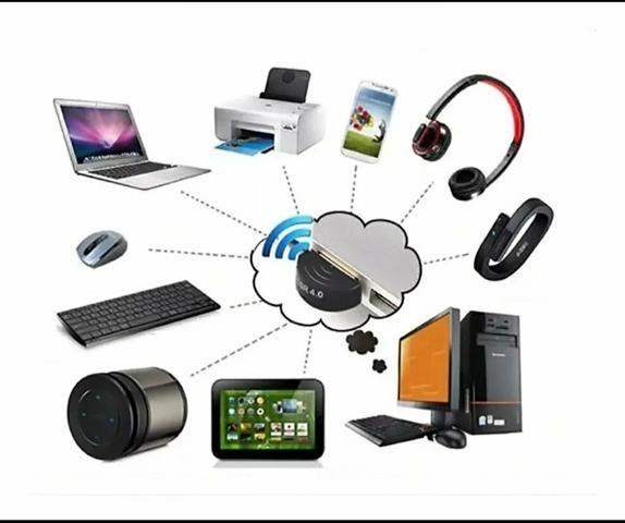 Adaptador Bluetooth 4.0 Para Pc Ou Note - Windows 7 8 10 Usb
