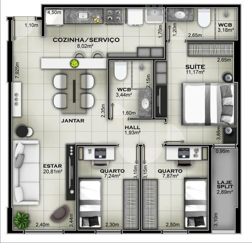 Cond. Good Life 1, 2 e 3 quartos em Jatiuca na 3 Quadra *Pag. Facilitado - Foto 19