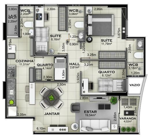 Cond. Good Life 1, 2 e 3 quartos em Jatiuca na 3 Quadra *Pag. Facilitado - Foto 7