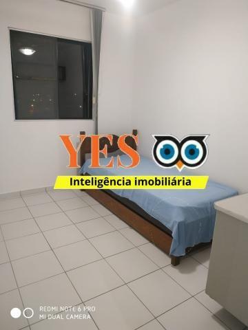 Yes imob - apartamento mobiliado para locação, muchila, feira de santana, 3 dormitórios se - Foto 14