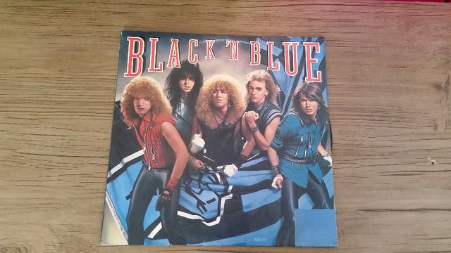 Lp Disco Vinil Black N Blue Idem Hard Rock bon jovi kiss guns n roses skid row motley crue - Foto 4