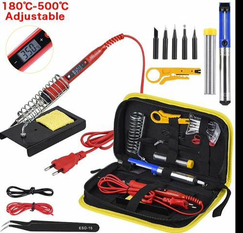 Kit De ferro De Solda temperatura ajustável JCD 220V