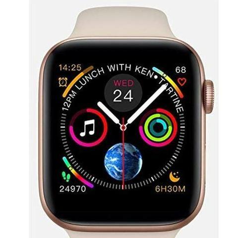 Relógio inteligente rose compatível para iPhone Samsung - Foto 5