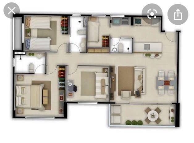 Apartamento vitral - Foto 3