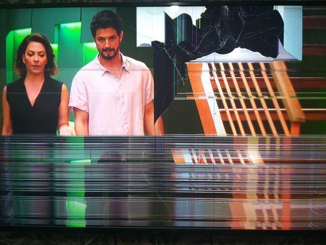 Smart Tv 55 polegadas pra retirada de peças