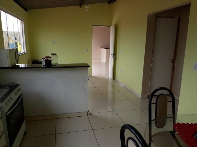 Casa nova, espaçosa com area de churrasqueira, 2quartos, 2 banheiros, lote de 400metros - Foto 12