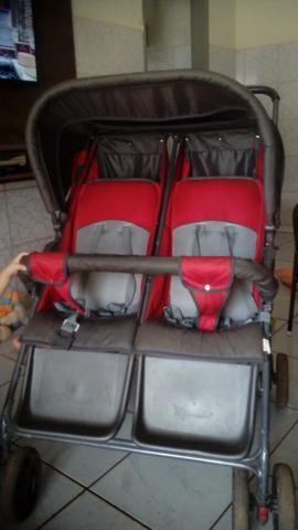 Carrinho duplo para bebe - Foto 2