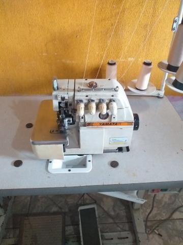 Maquinas de costura Reta é overlok ponto cadeia - Foto 4