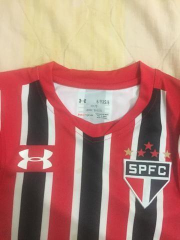 Camisa do São Paulo oficial infantil - Foto 2
