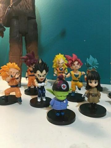 Boneco Dragon Ball Z Goku Vegeta Freeza Valor unidade - Foto 2