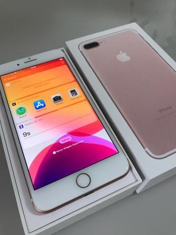 IPhone 7 32gb Plus Rose c garantia - Foto 2