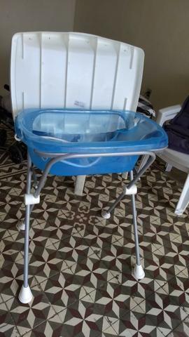 Trocador e banheira azul - Foto 3