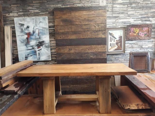 Mesas de madeira - Foto 5