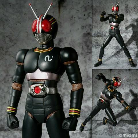Kamen Rider Black e RX - Shfiguarts - Foto 3