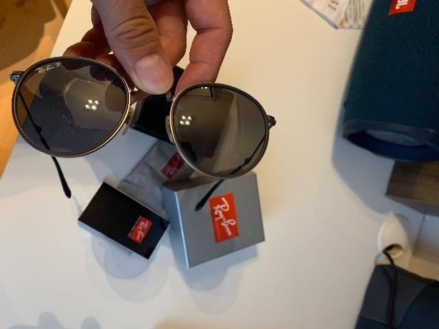 Óculos Rayban dobrável lentes polarizadas - Bijouterias, relógios e ... 00a4a890ad