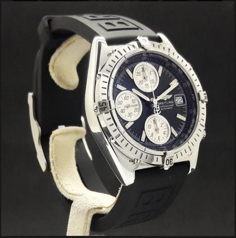bbe73a535e5 Breitling Chronomat GT impecável aço