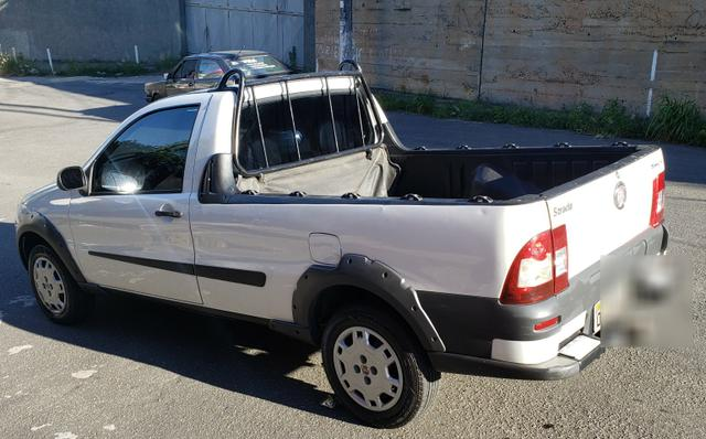 Fiat strada working 1.4 celebration cabine simples branca 2012 - Foto 2