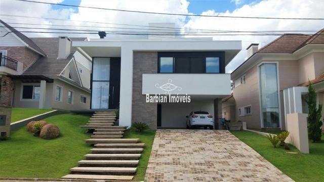 Barbian Imóveis - Casa em condomínio fechado com 4 suítes - Santa Cruz do Sul