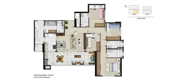 Ed Reserva Bonifacia - 4 quartos - 143m² - a maior planta - Foto 8
