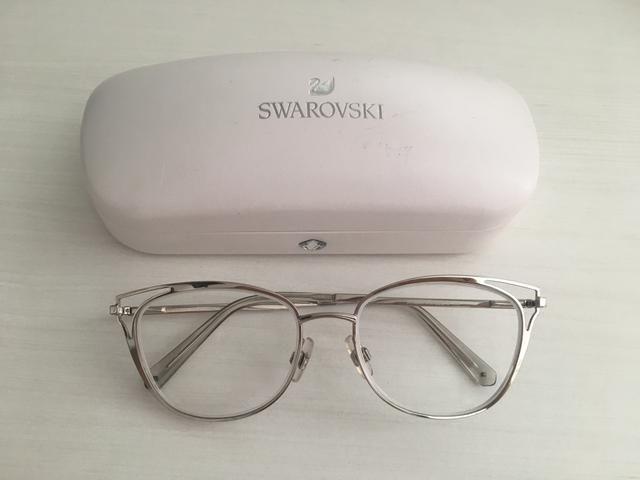 1cc25f7c1 Armação óculos de grau Swarovski - Bijouterias, relógios e ...