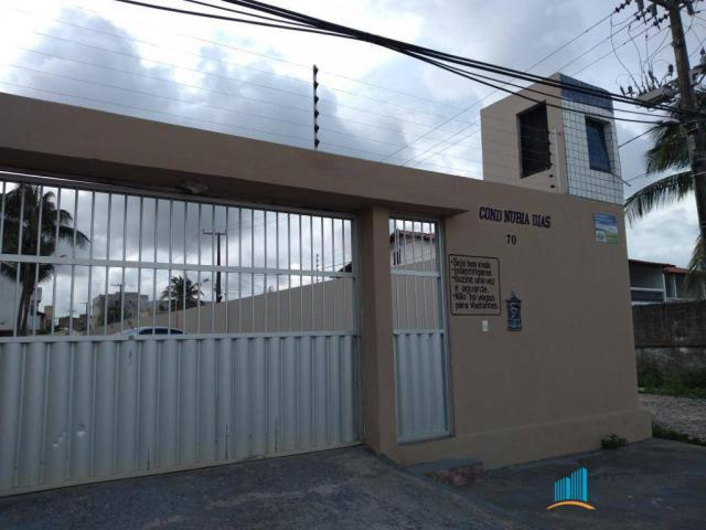 Apartamento com 3 dormitórios para alugar, 80 m² por R$ 859,00/mês - Icaraí - Caucaia/CE