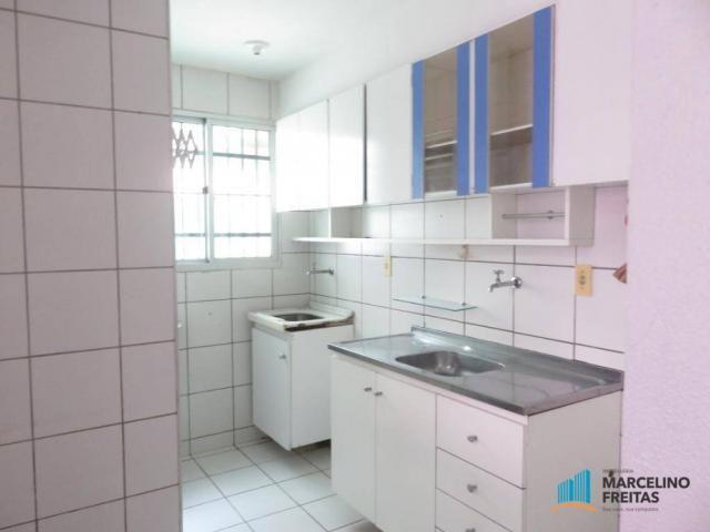 Apartamento com 2 dormitórios para alugar, 45 m² por R$ 909,00/mês - Parque Tabapua - Cauc - Foto 6