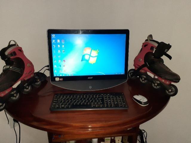 Computador + Patins 4rodas