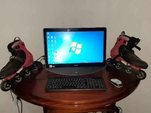 Computador + Patins 4rodas - Foto 3