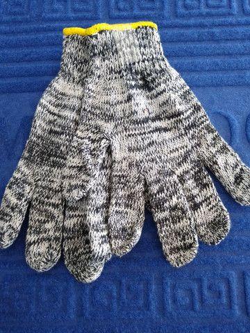Luva tricotada pigmentada - Foto 2