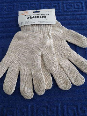 Luva tricotada pigmentada - Foto 3