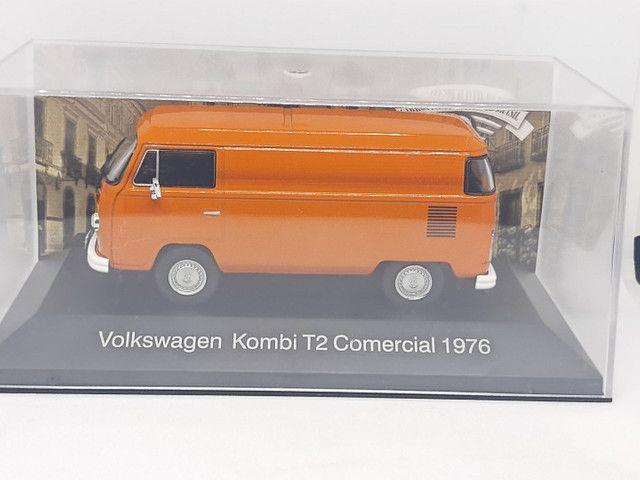 Miniatura Kombi T2 comercial 1976 1/43 - Foto 4