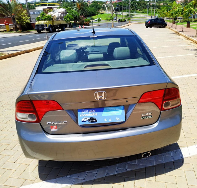 Honda Civic Lxs 2008 1.8 Flex Completo (Automático) - Foto 5