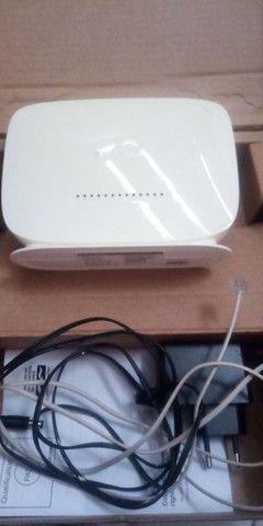 Modem roteador Internet e Wi-Fi
