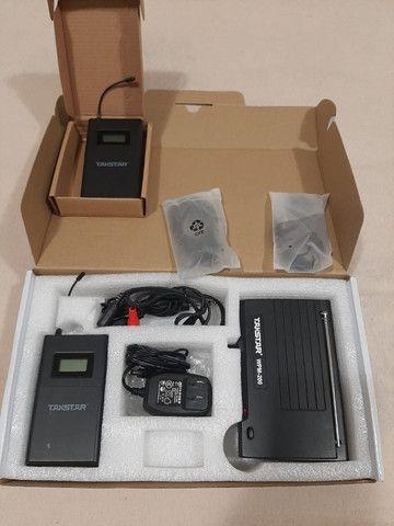 Takstar wpm 200 com dois receptores - Foto 4