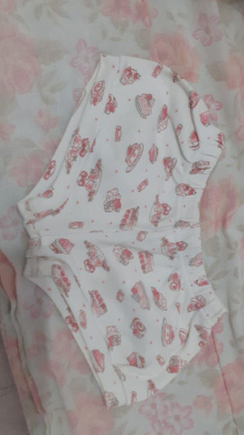 Lotinho d roupa pra menina 90 - Foto 4