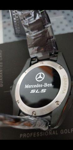 Relógio Tag Heuer Mercedes Benz SLS Black a prova d'água Completo - Foto 3