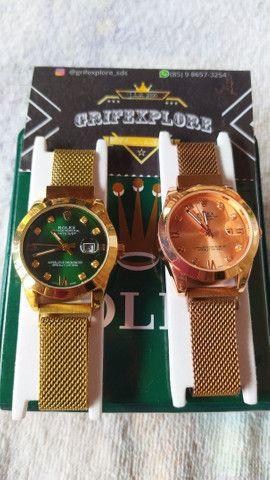 Rolex feminino 1° linha na promoção da loja(@grifexplore_sds) - Foto 2