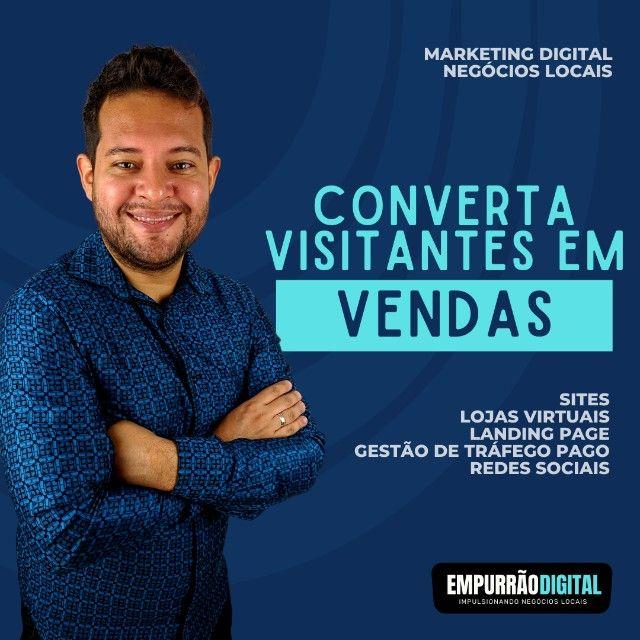 Converta visitantes em Vendas - Sites, Lojas Virtuais, Gestor de Tráfego Pago