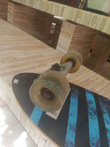 Simulador de surf Hondar semi-novo skate sk8 - Foto 6