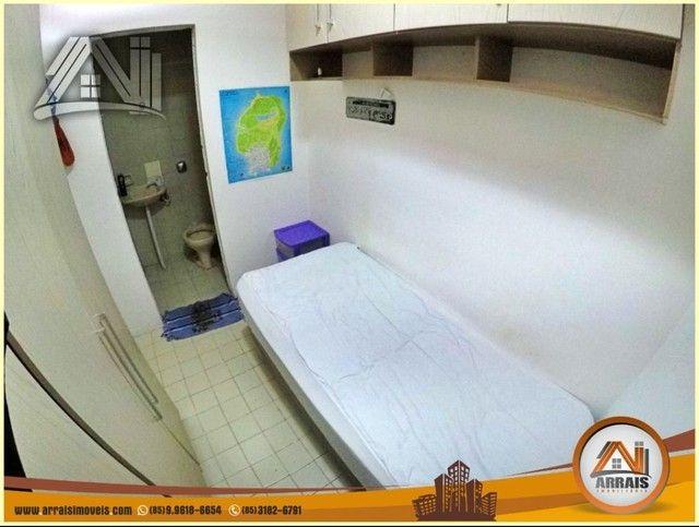 Apartamento com 3 dormitórios à venda, 96 m² por R$ 280.000,00 - Vila União - Fortaleza/CE - Foto 6