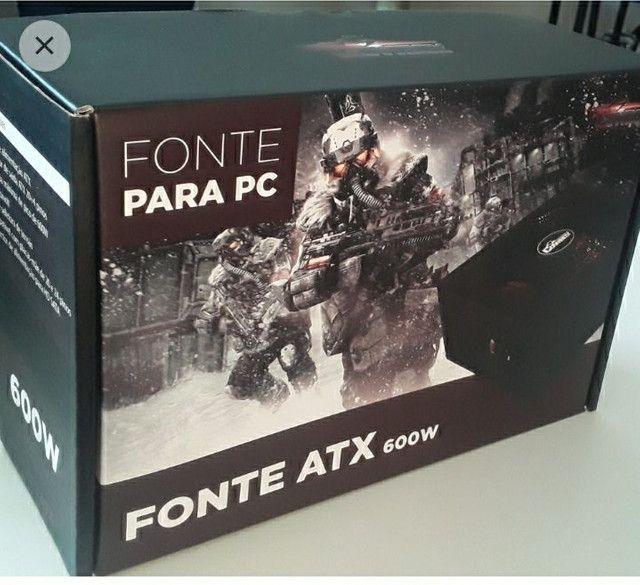 Fonte para PC ATX 600W - Foto 2