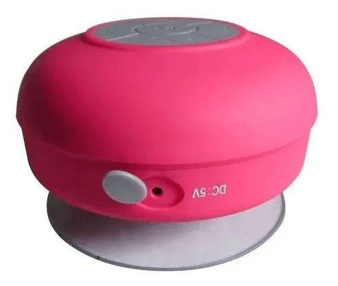 Caixa De Som Bluetooth A Prova D'água Recarregável Ventosa - Foto 2