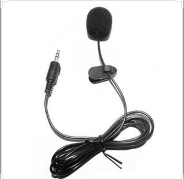 Microfone Lapela Profissional Omnidirecional Cabo 6m e simples  - Foto 4