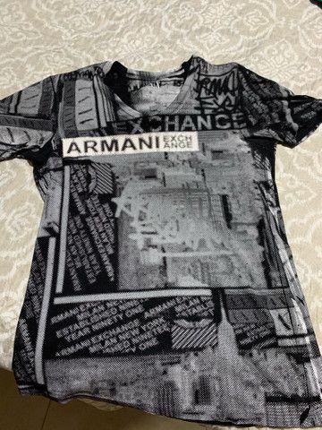 Camisa da Armani